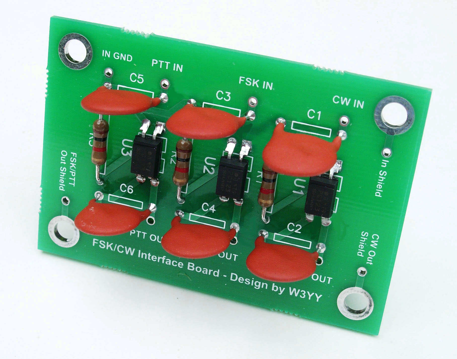 Fsk Cw Pc Interface For Keying Ham Transmitters Electronic Keyer Circuit Optically Isolated And Transceivers
